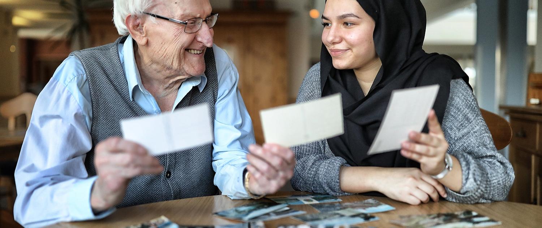 Liebevolle Betreuung von Senioren