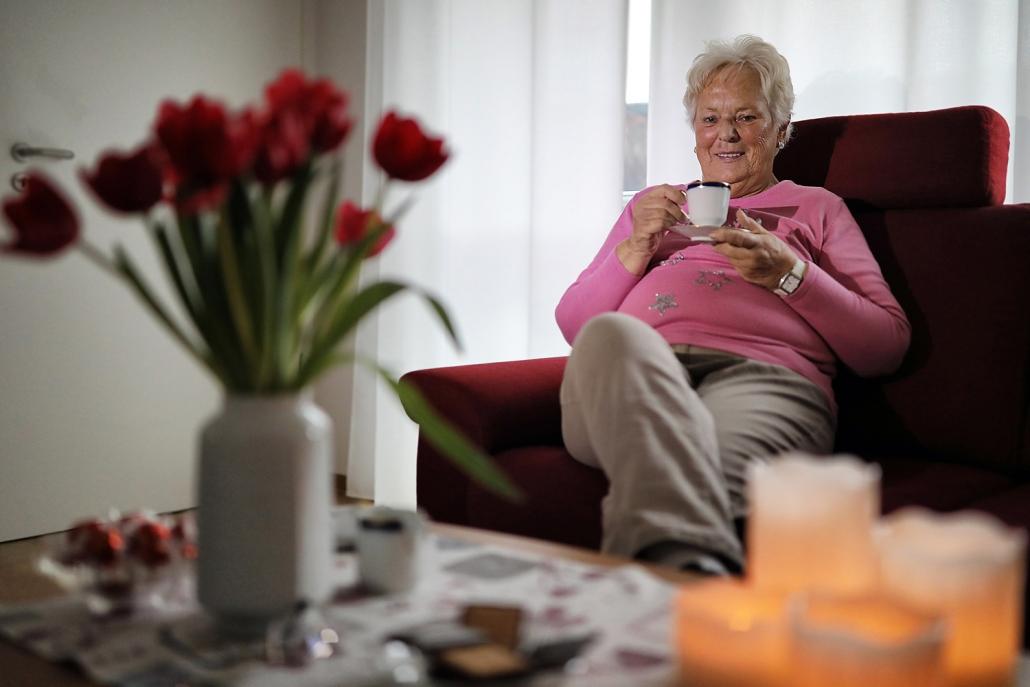 Bespiel einer Seniorenwohnung in Hilden