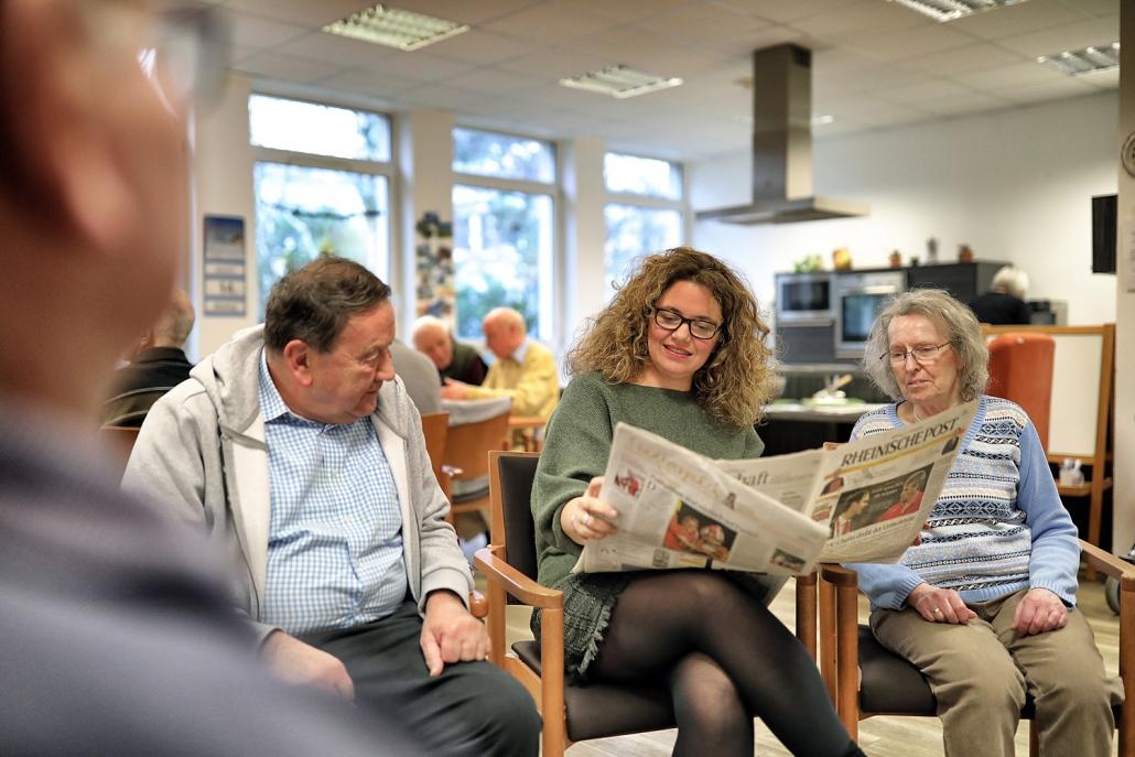 Kurzzeitpflege im Seniorenzentrum