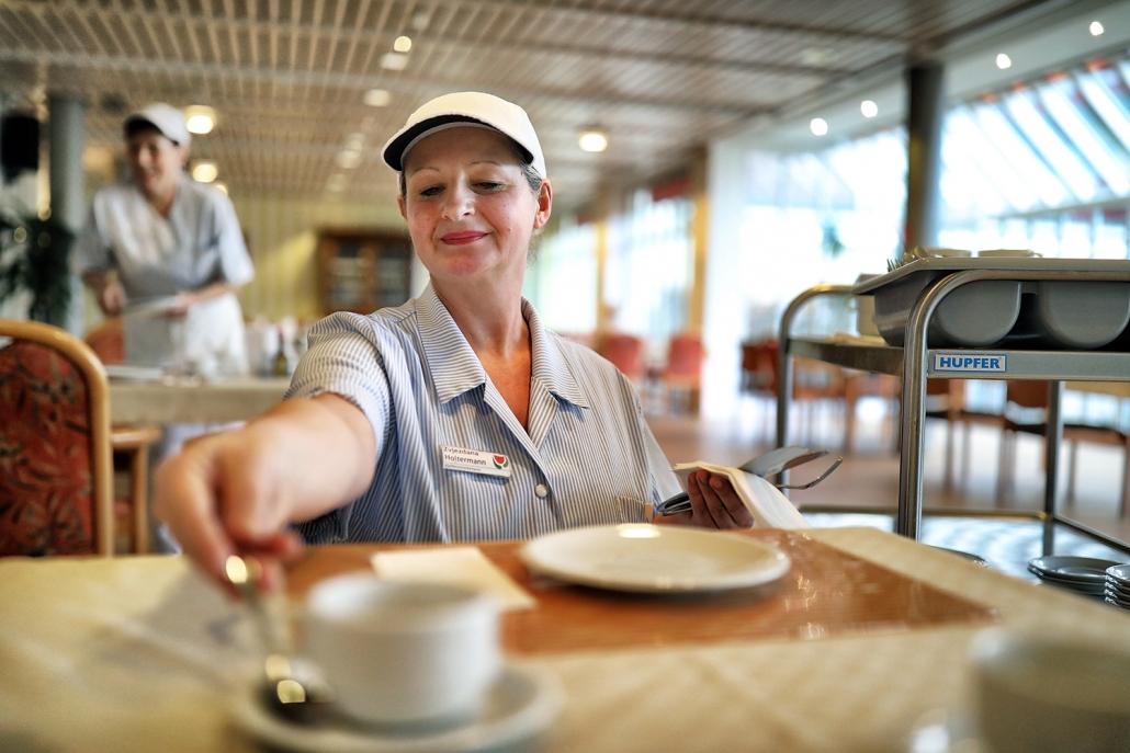 Küchenhilfe & Küchenfachkraft im Seniorenzentrum