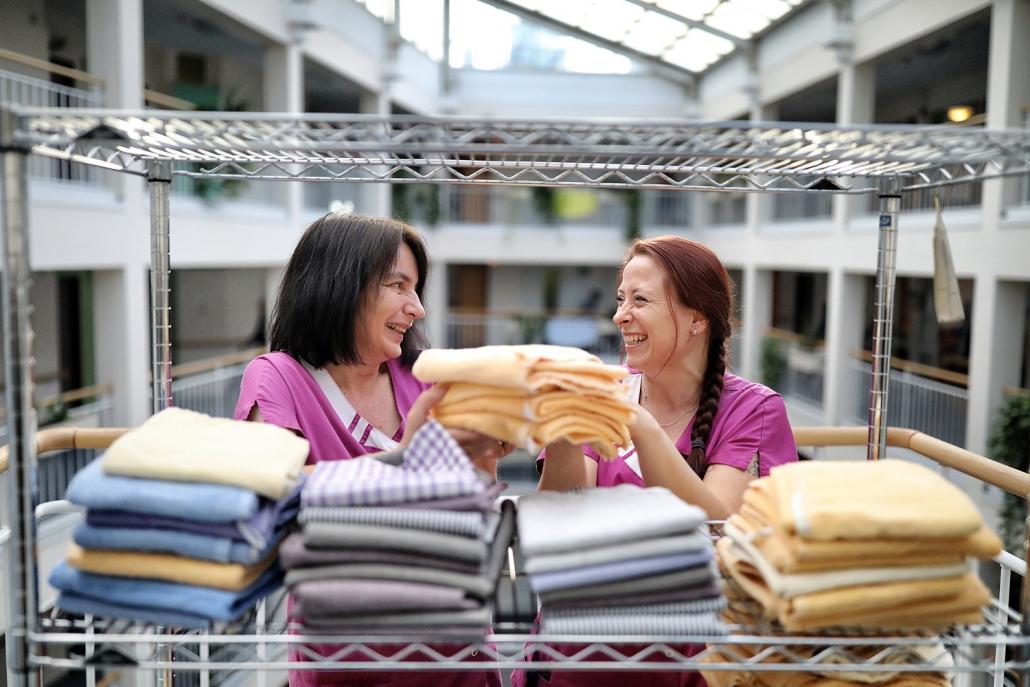 Stellenangebot Hilfskraft für die Bettenpflege in Hilden
